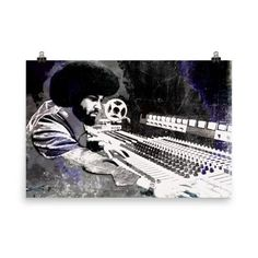 Norman Whitfield - Motown Soul Poster Print