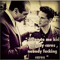 A bronx tale A Bronx Tale Movie, A Bronx Tale Quotes, Goodfellas Quotes, Godfather Quotes, Favorite Quotes, Best Quotes, Nobody Cares, Postive Quotes, Robert De Niro
