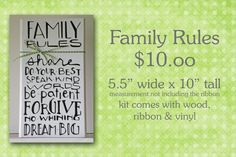 House Rules Sign, Family Rules, Do Your Best, Words, Horse
