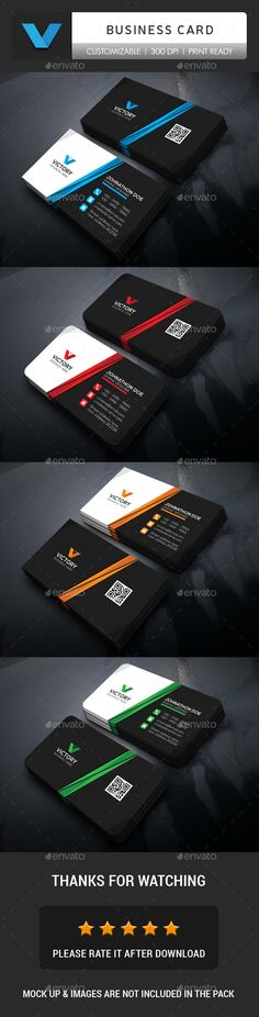 Corporate #Business Card - Corporate Business Cards