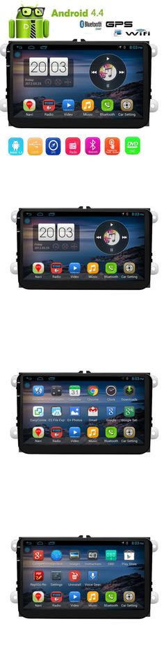 Video In-Dash Units w GPS: Android 4.4 3G Wifi 9 Inch Double 2 Din Car Radio Stereo Gps Navi For Vw Passat -> BUY IT NOW ONLY: $159.99 on eBay!