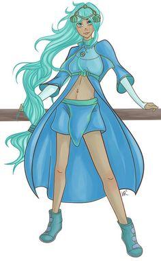 Another sweety Shini!! homage by keuprock illustrations, thank you :) #LuminaThanks