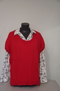 Ravelry: Tanyarzh's Women's vest cotton Moscow, Ravelry, Vest, Knitting, Cotton, Mens Tops, Fashion, Moda, Tricot