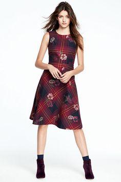 Women's Sleeveless Flounce Dress