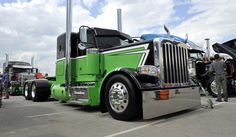 flat top peterbilt show trucks | Posted in: Clint's Cool Creations
