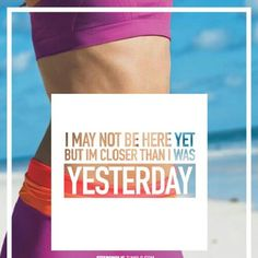 Closer than I was yesterday!!  #motivation #fitspo #fitness #fitforlife #reachinggoals .