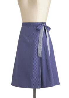 Try to make a pattern for this reversible wrap skirt. Twice the Treat Skirt | Mod Retro Vintage Skirts | ModCloth.com