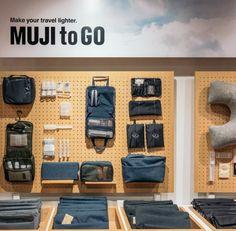 Muji to go shop display