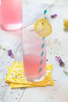 lavender lemonade- fresh lemon juice, dried lavender, light- colored honey and water