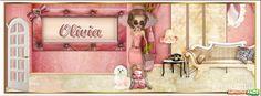 Olivia - Portadas con nombres para Facebook