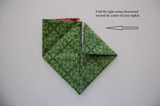 Bunny Rabbit Napkin Folding Tutorial: Great for Easter or a Springtime Tablescape