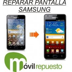 #Samsung #Galaxy #S2 I9100, cambio de pantalla o cristal, reparación con maquina. Con pegamento uv loca de origen y sellado profesional. #Reparamos todo tipo de #smartphones www.movilrepuesto.net