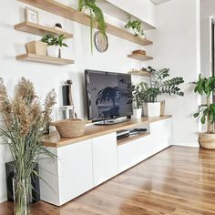 Awesome Home Decoration Ideas – living room – einrichtungsideen wohnzimmer Living Room Inspo, Living Room Tv Wall, Living Room Tv, Living Room Wall Units, Home And Living, Home Living Room, Interior, Apartment Living Room, Room Decor