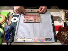 ▶ Scrap para principiantes 1: Materiales básicos. Scrapbooking tutorial, scrapbook ideas. - YouTube