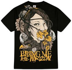 Bring Me The Horizon  Lady Of Life TShirt  Large *** To view further for this item, visit the image link. (Note:Amazon affiliate link)