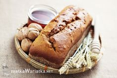 bread with honey and walnuts