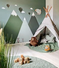 Fantasyroom Blog: Die schönsten Kinderzimmer auf Instagram Baby Boy Rooms, Baby Bedroom, Baby Room Decor, Nursery Room, Kids Bedroom, Toddler Rooms, Boy Toddler Bedroom, Childrens Rooms, Nursery Decor Boy