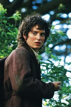 is it just me, or does it look like Frodo has a phone in his hand?