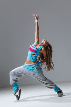 Take a Hip Hop Dance Class, and try to look as cool as this chic while doing it!  I'll try
