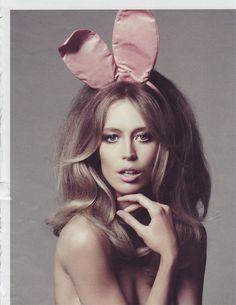 ooh la la #bunny ears & ash blonde...