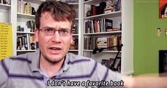 I DON'T HAVE A FAVORITE BOOK (animated)