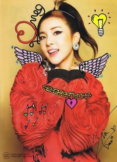 Dara for MEG Magazine #2ne1