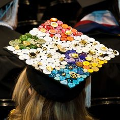 FIDM 2010 caps @Stacy Stone Kotula.. you should do this for your grad cap!
