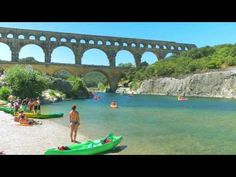 Camping Frankrijk Languedoc Roussillon Pont du Gard La Sousta Pont Du Gard, Languedoc Roussillon, Camping, Outdoor Decor, Places To Visit, Campsite, Campers, Tent Camping, Rv Camping