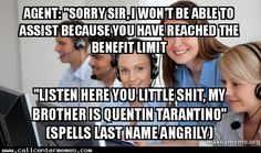 """Gotta love the """"name droppers"""" - http://www.callcentermemes.com/gotta-love-the-name-droppers/"""