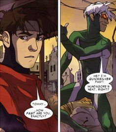 teddy-assman:   Young Avengers Presents: Wiccan and Speed  I love the art in this issue