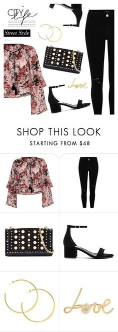 Street Style by dressedbyrose on Polyvore featuring River Island, Steve Madden and Betsey Johnson