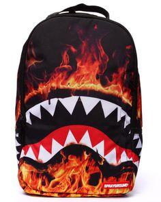 Sprayground Backpack - Fire Shark