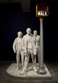 George Segal (artist) - Alchetron, The Free Social Encyclopedia George Segal, Pratt Institute, Georgia O Keeffe, Tape Art, Walking By, Pop Music, Installation Art, Art Blog, Dance