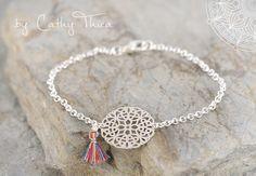 Armbänder - Boho Armband  - ein Designerstück von Cathy-Thica-Namaste bei DaWanda