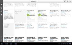 tablet app design - Google Search