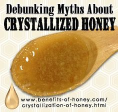 Crystallization of honey is a little understood process or rather, much misunderstood phenomenon. Most of the consuming public associate crystallized honey that has become coarse and grainy in texture with table sugar and assume it is an unnatural, adulterated honey or a poor quality honey.