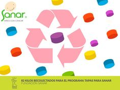 La Fundación SANAR recibió, gracias al aporte de toda la comunidad universitaria, 82,5 kilos en tapas para reciclar. Con esta donación,se apoya el desarrollo de programad de Apoyo Médico, Social y Psicológico de la Fundación, para que niños y adolescentes continúen sus tratamientos contra el cáncer de manera adecuada.  Conozca más en: http://uklz.info/FSanar2014-I