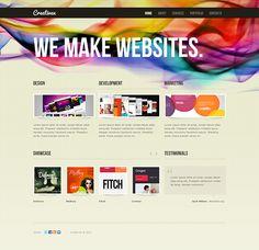 Design Marketing Joomla Template by Html5 Web Templates