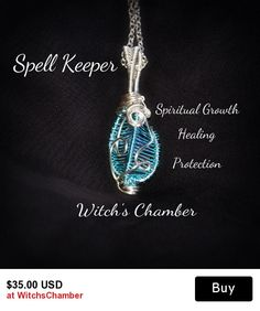 Wire Wrapped Spell Keeper