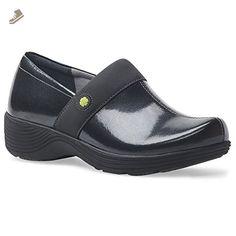 0c678c3812d935 Dansko Women s Camellia Grey Snake Patent Clog Mule - Dansko mules and clogs  for women