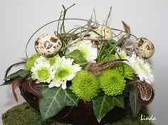 Gevuld paasei - bloemschikken zelf paasstukjes maken