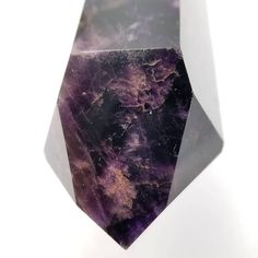 Do you have a stunning black amethyst crystal generator point in your crystal collection yet? You will love working with this natural dark purple beauty for third eye chakra work and energy healing. This rare dark amethyst crystal displays a natural deep purple coloring due to hematite inclusions. This may probably be the darkest amethyst youll ever own and it will be a useful tool for energy work.  Black amethyst is the best crystal to use for relief of migraines. Place the point above your…