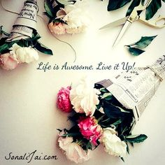 You only live once make it count. #LiveitUp  #BeYou #Inspiration #Awesome