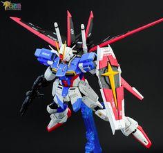 MG 1/100 Force Impulse Gundam - Painted Build Modeled by choody