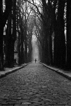 Lothar Streidle, 2004 Photo of Pere-Lachaise cemetery in Paris,