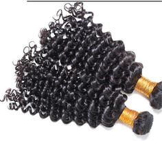 100% Virgin Hair Deep Wave Curly Brazilian Unprocessed weft | Wholesale Hair Extension Factory
