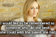 J.K Rowling quote
