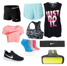 """""""Nike"""" by kitchenkalie ❤ liked on Polyvore featuring мода и NIKE"""
