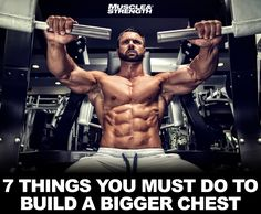 How to build a better chest without the bench press. Floor presses, flyes with a twist, and the pump! Maik Weidenbach presents you with seven unique chest building tips that aren't centered around the bench press.