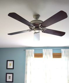 The Most Inexpensive Way To Upgrade An Ugly Ceiling Fan